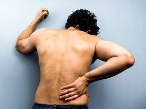 Prarasti viršutinės nugaros dalies riebalai per savaitę